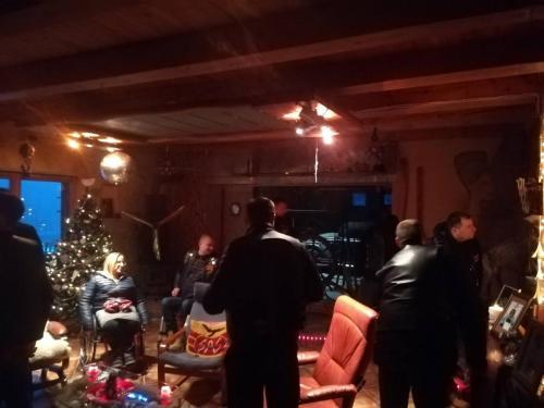 2018.12.30 Šiltas vakaras a.a. Eugenijaus Malinausko namuose.